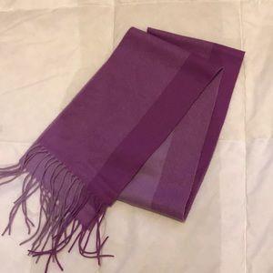 Purple Cashmere Scarf 🧣